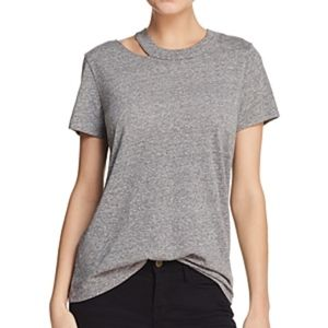 Philanthropy Zander cutout shoulder tee top S